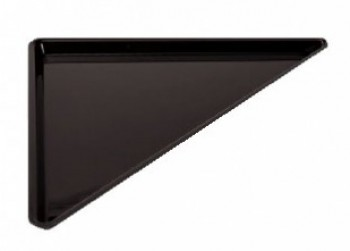 PLATS PLEXI NOIR TRIANGLES